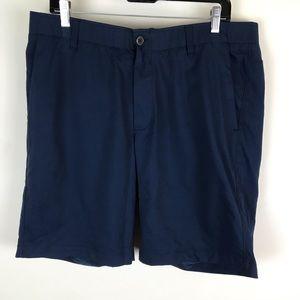 Under Armour 38 NWT $65 Navy Blue Heatgear Shorts
